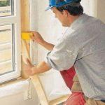 Отделка откосов на пластиковых либо деревянных оконных и балконных конструкциях