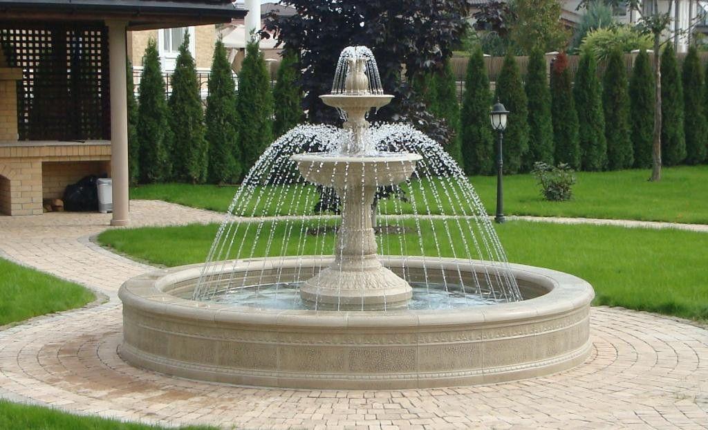 Парковые фонтаны
