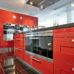Сборный кухонный очаг с духовым шкафом