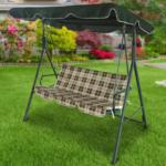 Садовые качели – практичный элемент садового дизайна